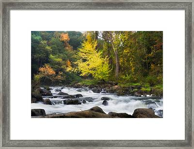 Housatonic River Framed Print by Bill Wakeley