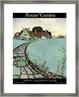 House And Garden Spring Garden Guide Framed Print