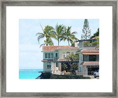 House At Land's End Framed Print