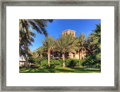 House At Madinat Jumeira Dubai Framed Print by Fototrav Print