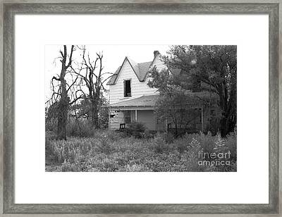 House At The End Of The Street Framed Print