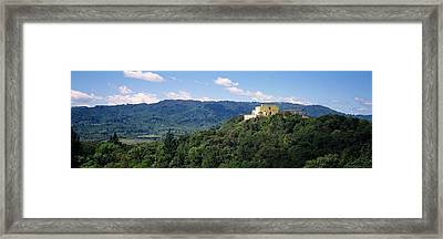 House At The Hilltop, Napa Valley Framed Print by Panoramic Images