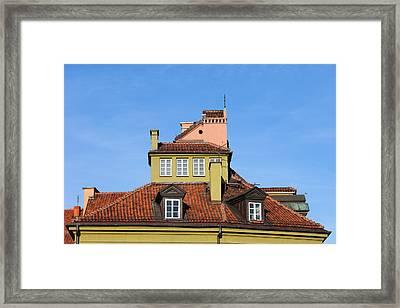 House Attic Framed Print by Artur Bogacki
