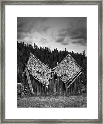 House Broken Framed Print by Ren Alber