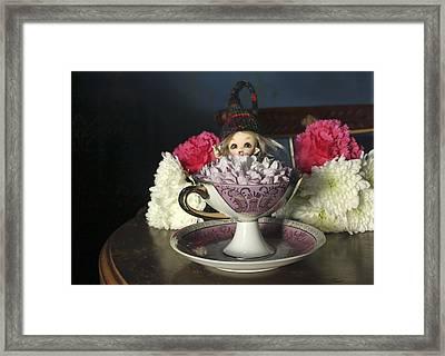 House Brownie Tea Party 3 Framed Print