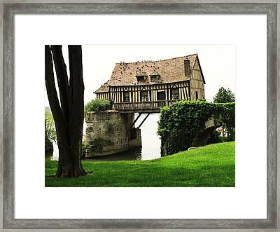House But No Land Framed Print by Mary Ellen Mueller Legault