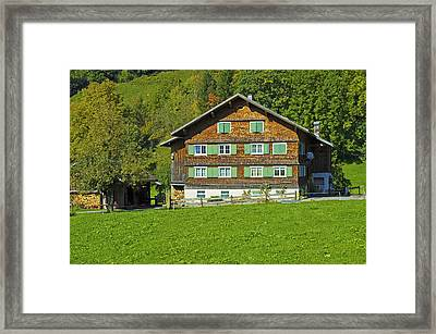 House Framed Print by Chevy Fleet