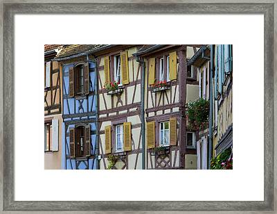 House, Colmar, Alsace, France Framed Print by Peter Adams