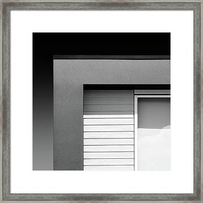 House Corner Framed Print by Dave Bowman