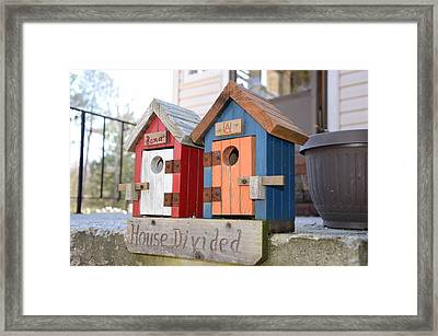 House Divided Framed Print by Heather Graves