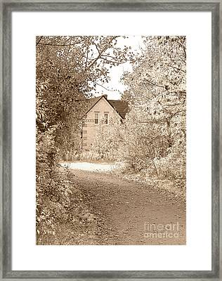 House In Autumn Framed Print by Blink Images