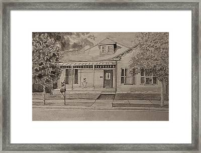 House In Franklin Tennessee Framed Print by Arthur Witulski