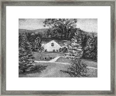 House Framed Print