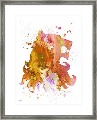 House Lannister Framed Print by Watercolor Girl