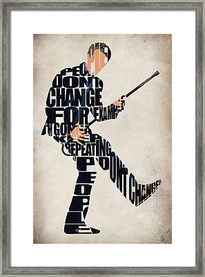 House Md - Dr. Gregory House Framed Print
