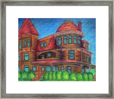 House Not A Home Framed Print