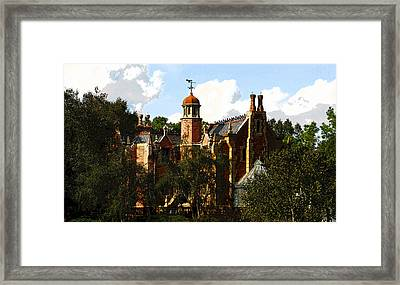 House Of 999 Ghosts Framed Print by David Lee Thompson