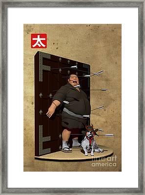 House Of Arrows Framed Print