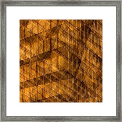 House Of Cards Framed Print by Anders Hingel