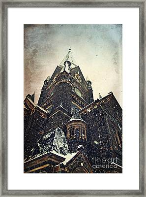 House Of God Framed Print by Angela Doelling AD DESIGN Photo and PhotoArt