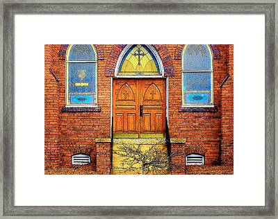 House Of God Framed Print by Rodney Lee Williams
