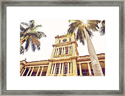 House Of Heavenly Kings Framed Print by Scott Pellegrin