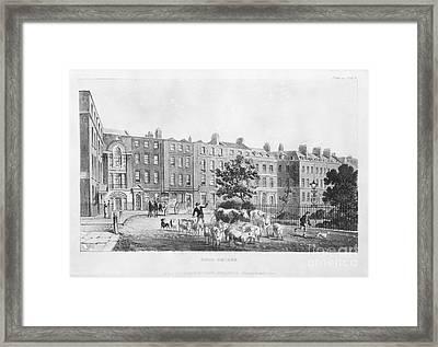 House Of Joseph Banks, 19th Century Framed Print