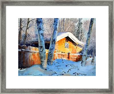 House Of Light Framed Print