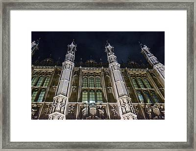 House Of Lords  Framed Print by Bill Mock