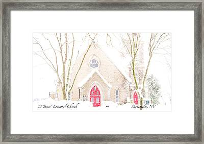 Framed Print featuring the photograph O Come All Ye Faithful by Margie Amberge