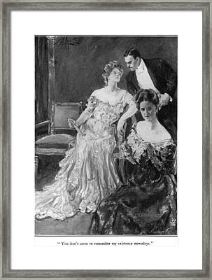House Of Mirth, 1905 Framed Print by Granger