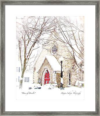 House Of Mracles Framed Print by Margie Amberge