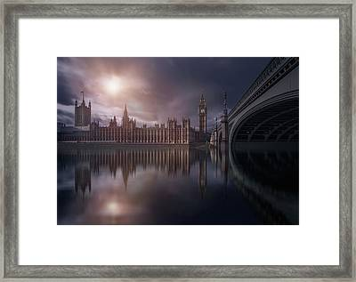 House Of Parliament Framed Print