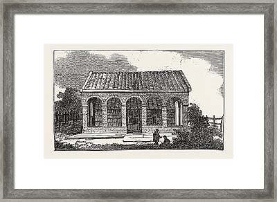 House Of Peter The Great, At Saardam Or Zaandam Framed Print
