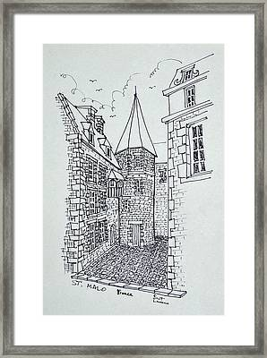 House Of Princess Anne Of Brittany Framed Print