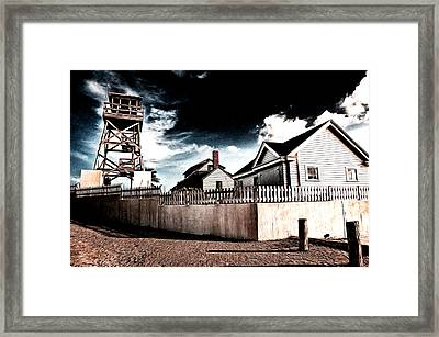 Framed Print featuring the photograph House Of Refuge by Bill Howard