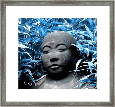 House Of The Blue Leaves Framed Print by Bill Cannon