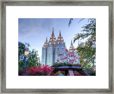 House Of The Lord Framed Print