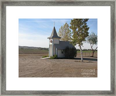 House Of The Lord Framed Print by Greg Patzer
