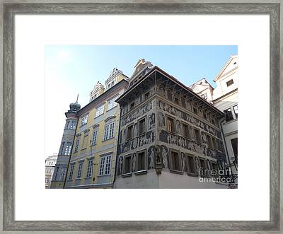 Framed Print featuring the photograph House Of The Minute by Deborah Smolinske