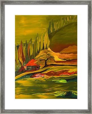 House Of The Rising Sun Framed Print