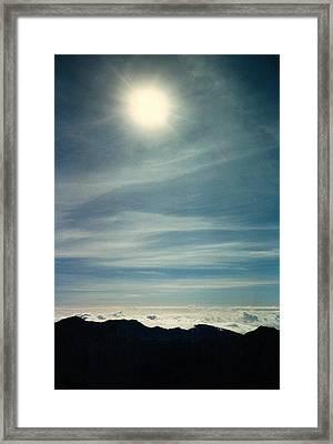 House Of The Sun Framed Print