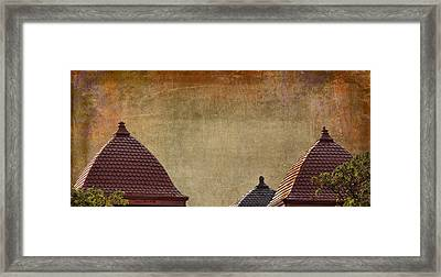House Of Time Framed Print by Sylvia Thornton
