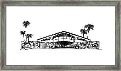 House Of Tomorrow Framed Print by Robert Cullison
