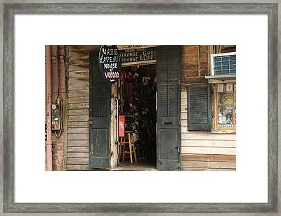 House Of Voodoo Framed Print by Bradford Martin