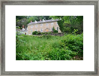 House On A Hill Framed Print by    Michael Glenn