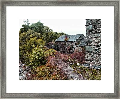 House On A River Framed Print by Doc Braham