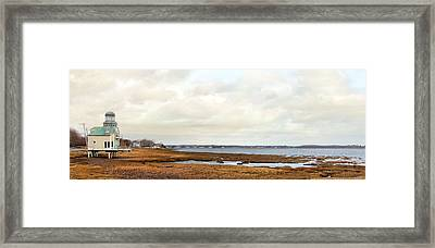House On Joppa Flats Framed Print