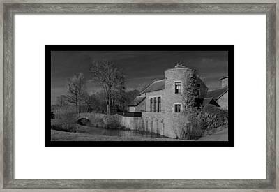 House On The River Framed Print by Maj Seda