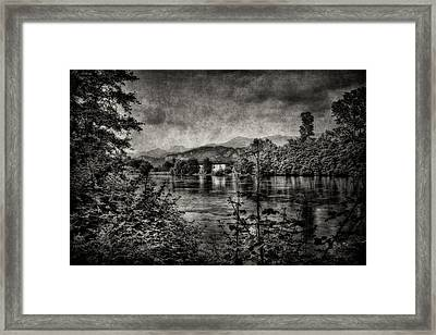 House On The River Framed Print
